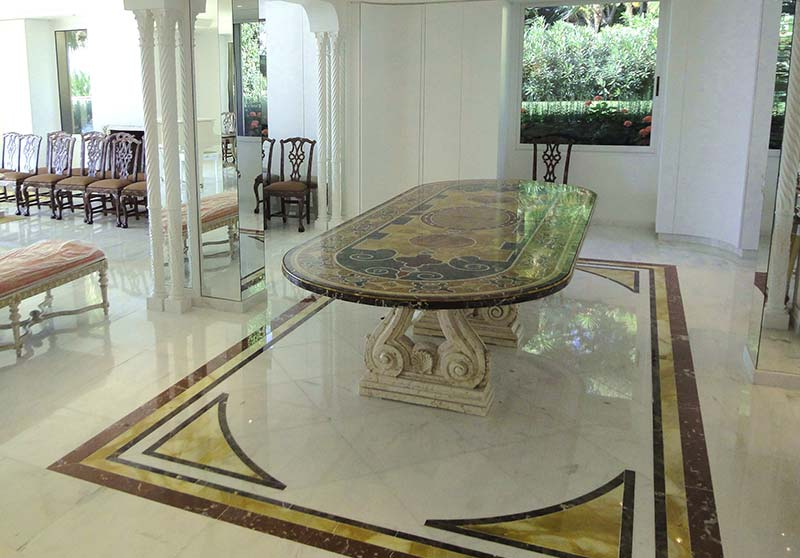Florence mosaic mosaico e scagliola lavorazione for Piani artistici per artigiani con suite di artisti