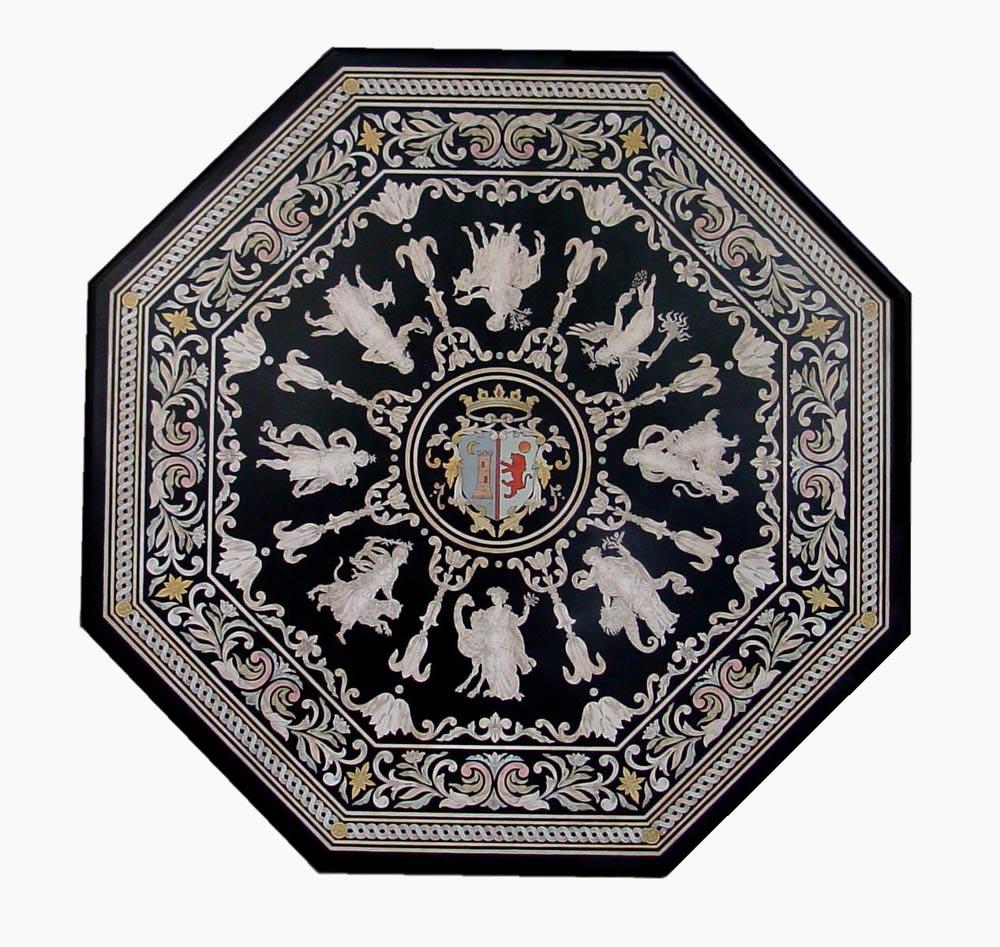 Florence mosaic scagliola firenze la lavorazione for Colonne esterne di stile dell artigiano